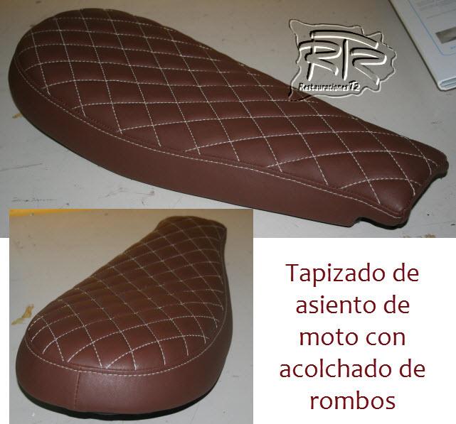Tapicer a tradicional for Tapiceria de asientos de moto