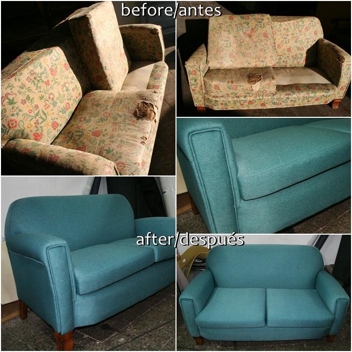 Tapicer a tradicional for Como arreglar un sofa